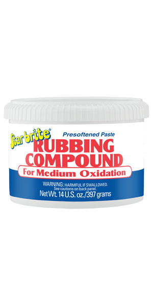 Starbrite Medium Rubbing Compound